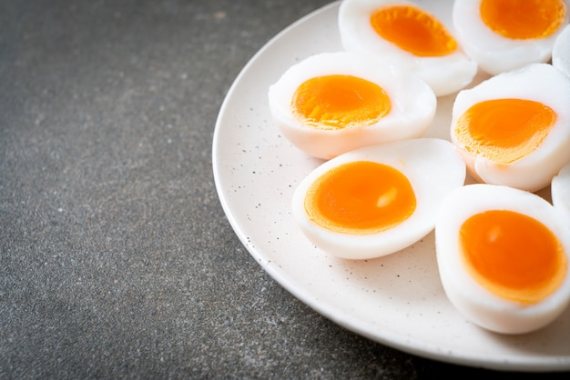 Яйца вкрутую
