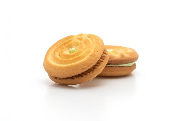 Печенье с кремом пандан