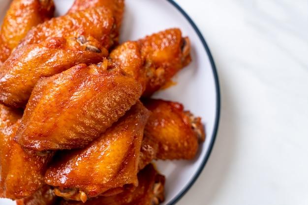 Барбекю куриные крылышки