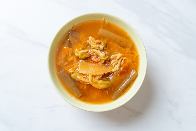 ミックスベジタブルサワースープ