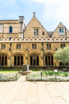 美しい建築キリスト教会大聖堂オックスフォード、英国