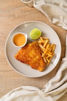 揚げ魚とチップス