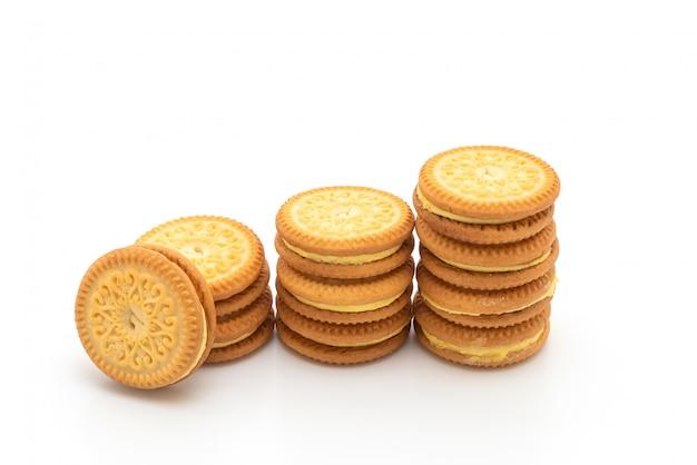 Печенье с маслом ванильного крема