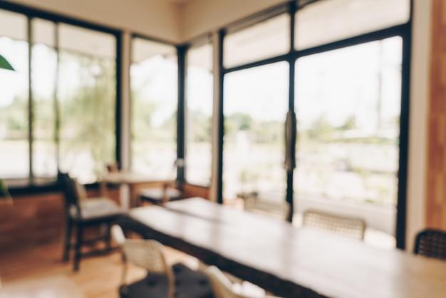 抽象的なぼかしカフェやコーヒーショップ