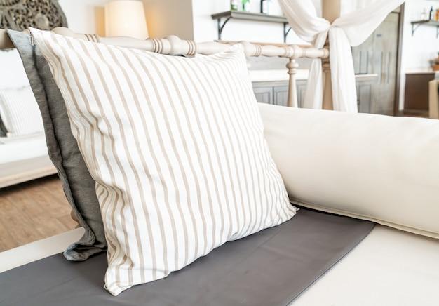 ソファチェアの快適な枕
