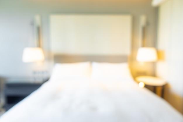 背景の抽象的なぼかし寝室インテリア