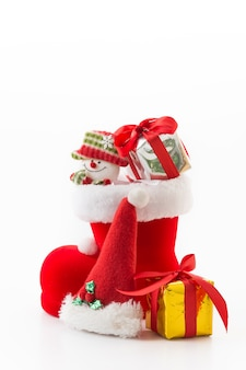クリスマスブーツのギフトボックス