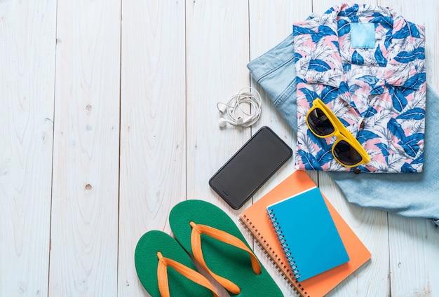 Мужские повседневные наряды путешественника, летний отдых