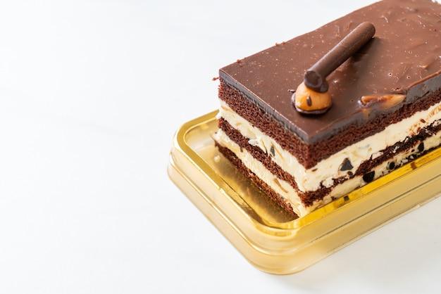 アーモンドとチョコレートケーキ