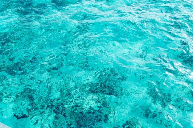 Красивый морской и океанский водный фон поверхности волны