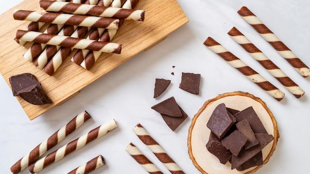 チョコレートウエハーススティック
