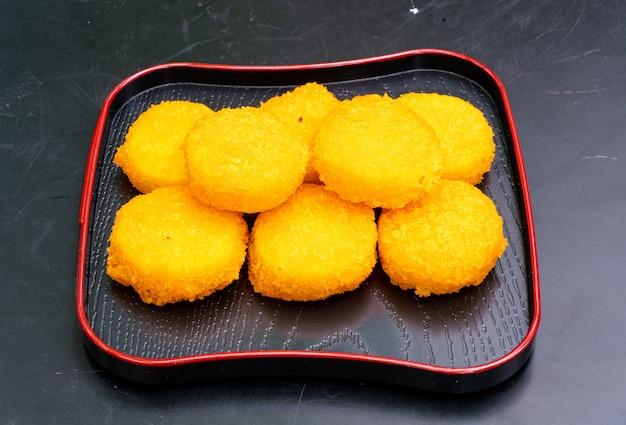 Жареные морские гребешки - по-японски