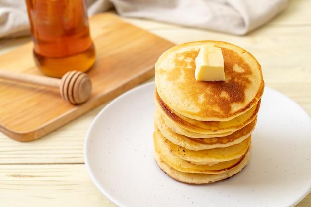 バターと蜂蜜のパンケーキ