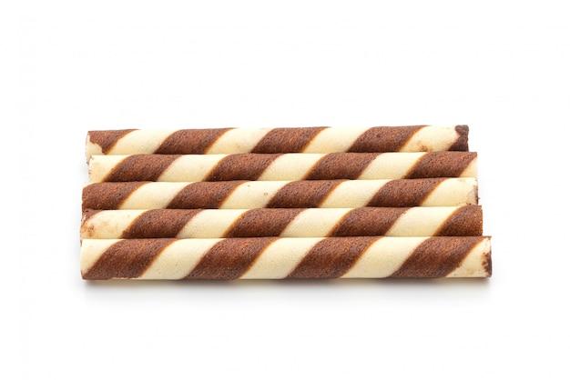 チョコレートクリーム味のビスケットウエハーススティック