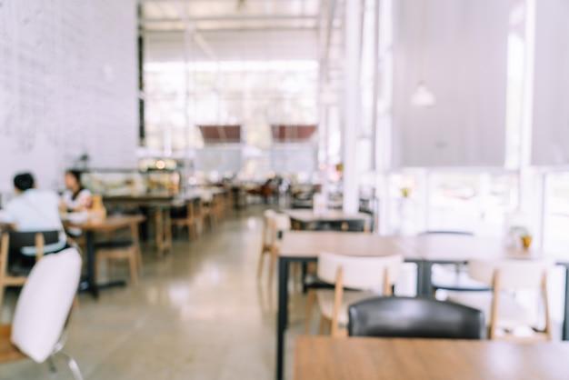 Абстрактный размытие кафе ресторан для фона
