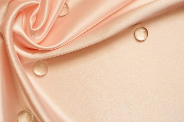 桃のドレープの背景