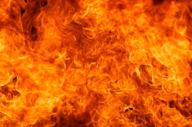 炎火の炎のテクスチャ