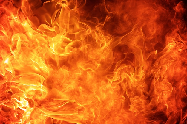 抽象的な炎火炎テクスチャ背景