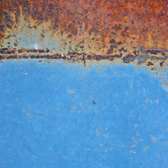 古い青錆金属のテクスチャ