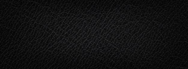 Натуральная черная кожа текстура фон