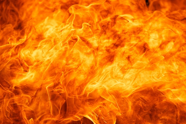 火のテクスチャ背景