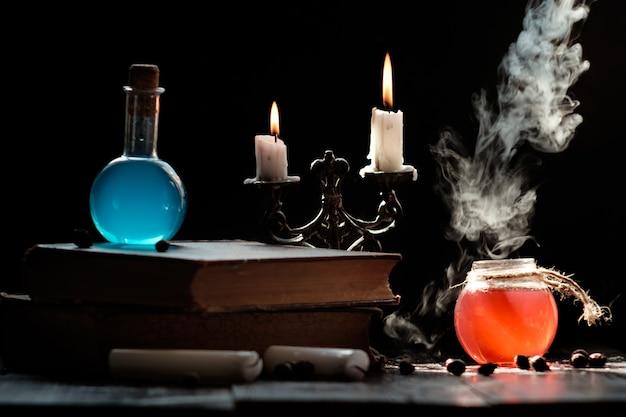 Зелья и свечи на книгу