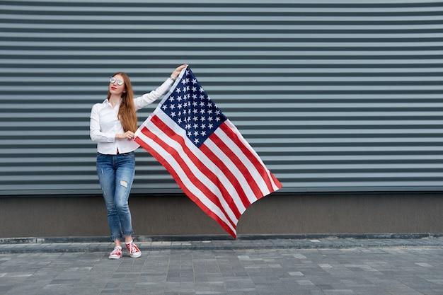 独立記念日と愛国心が強い概念