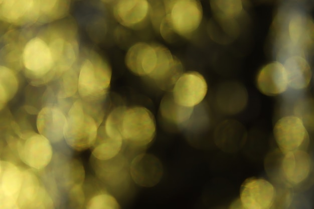 Эффект эффекта золотого освещения