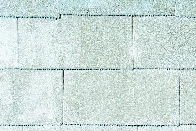 研磨テクスチャ屋根材のクローズアップ。