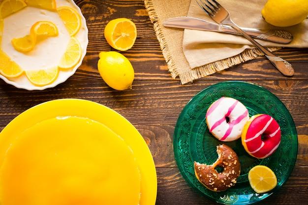 Домашний лимонный чизкейк