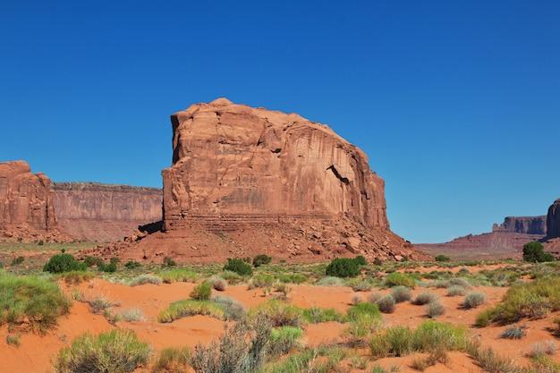 Долина монументов в юте и аризоне