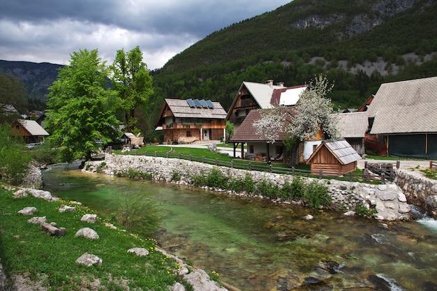 スロベニアのアルプスのスタラフジナ