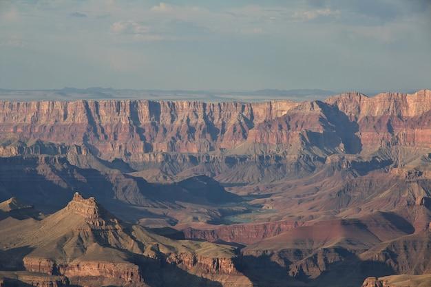 Большой каньон в аризоне, соединенные штаты