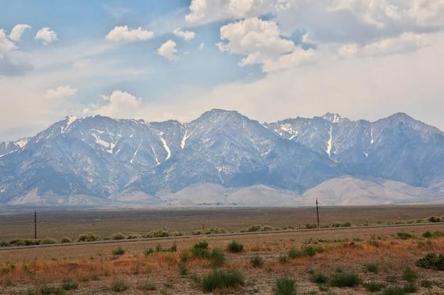 米国カリフォルニア州のヨセミテ国立公園