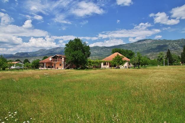 モンテネグロの小さな村