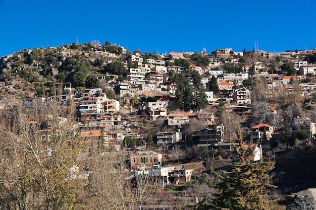 Долина кадиша в горах ливана