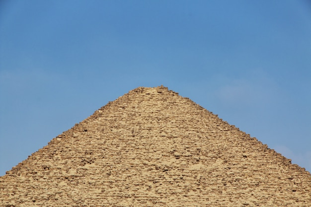 Пирамиды в дахшуре, пустыня сахара, египет
