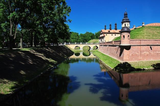 Несвижский замок в белорусской стране