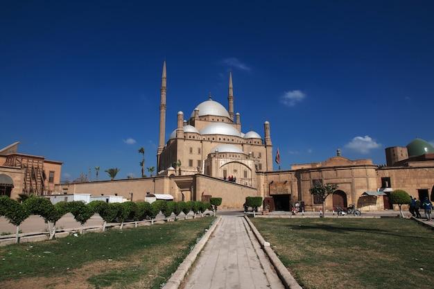 エジプトカイロセンターの古代の城塞