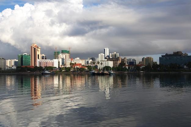 タンザニアのダルエスサラーム市