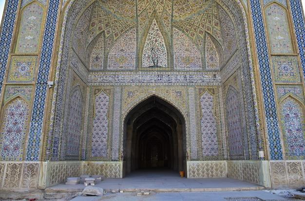 Мечеть вакиля в городе шираз, иран