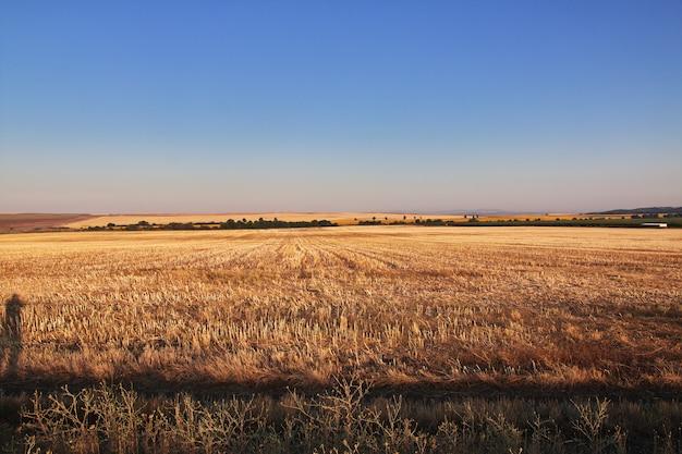 Вид на поля, болгария