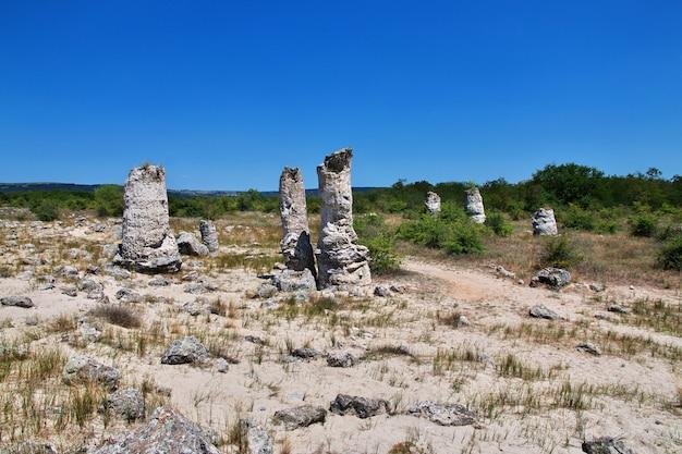 石の森、ブルガリアのポランティカマニ
