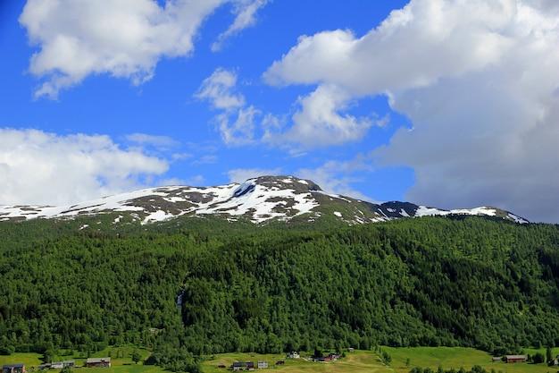 ノルウェーの山と谷