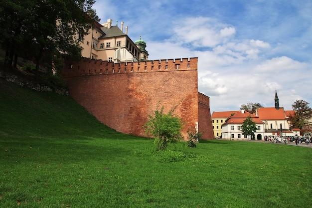ポーランド、クラクフの城