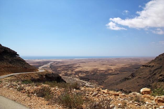 Пейзаж сокотры в йемене