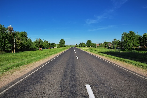 ベラルーシの国の道