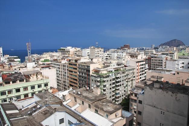 Посмотреть на крышах в рио-де-жанейро, бразилия