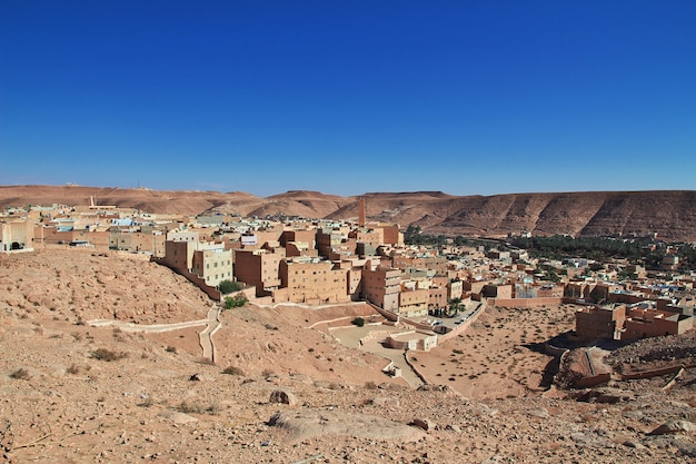 Медина города эль аттеуф, пустыня сахара, алжир
