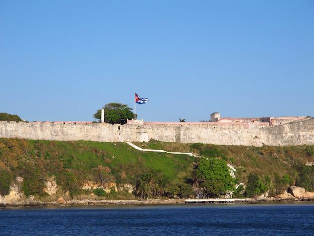 Старая крепость в гаване, куба